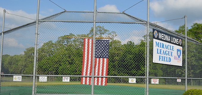 Medina Lions Miracle League Field. sliderjpg