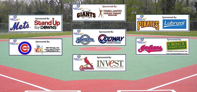Miracle League Field 2016 ads